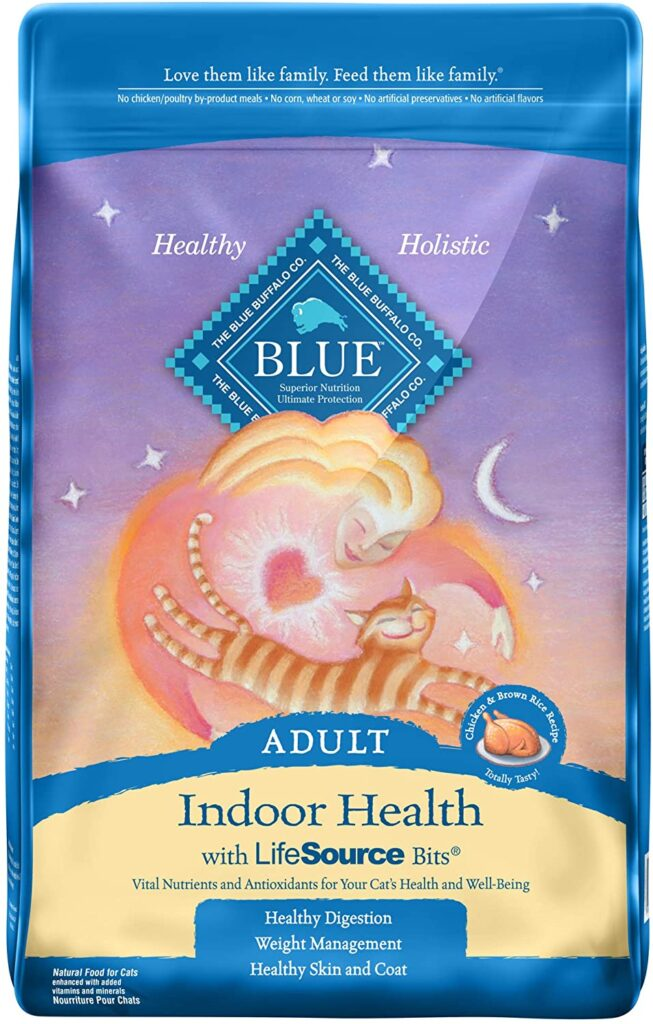 Blue Buffalo Natural Cat Food For Indoor Cats