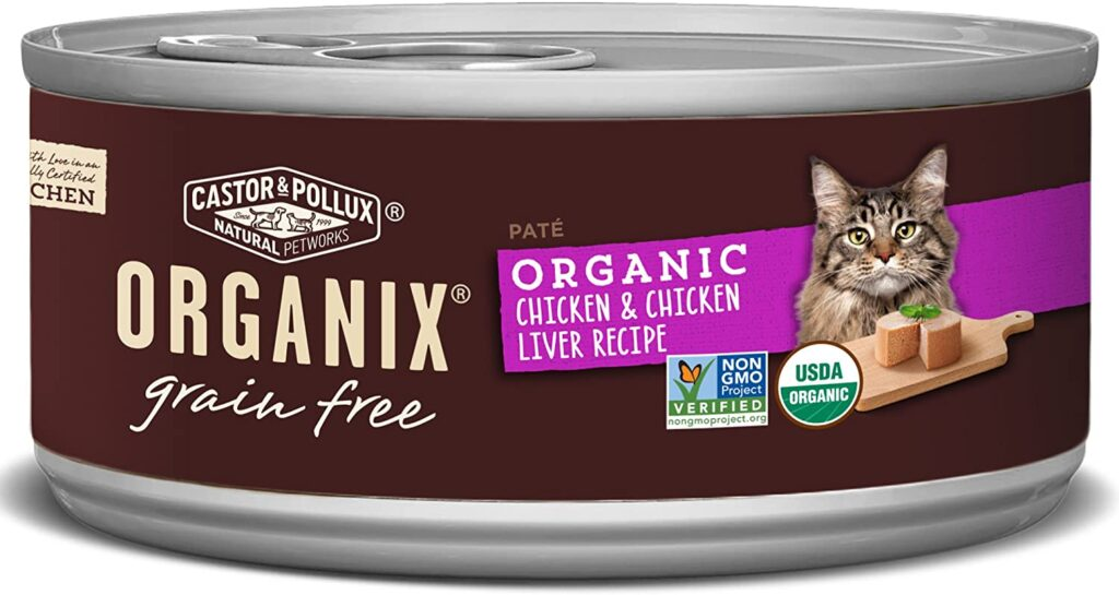 Castor And Pollux Organic Wet Cat Food